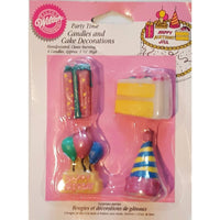 Wilton Party Time Candles - Party Zone USA