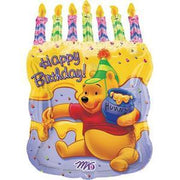 Winnie the Pooh Birthday Cake Mylar Balloon - Party Zone USA