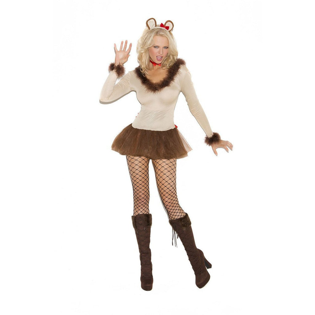 Women's Wizard of Oz Lioness Costume - Party Zone USA