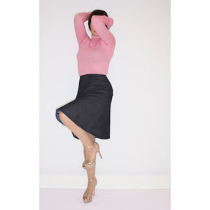 Studio Catta Dark Denim a-line skirt