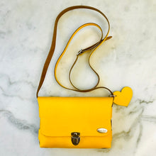 Load image into Gallery viewer, Bella Colori Colourful leather bags Yellow
