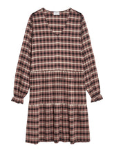Load image into Gallery viewer, Catwalk Junkie Dress Brown Check