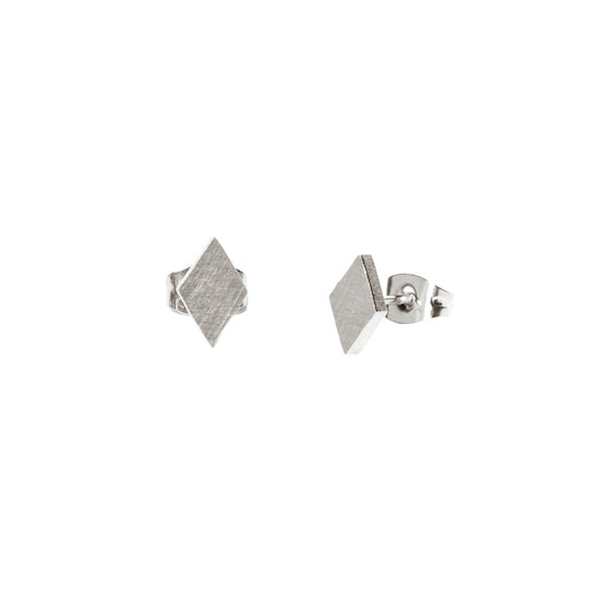 M'adam the label Earstuds Triangle steel