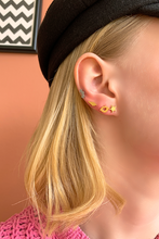 Load image into Gallery viewer, M'adam the label Earstuds 3 Star steel