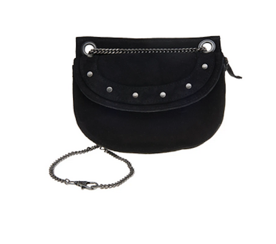 Elvy Suede bag black
