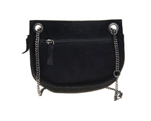 Load image into Gallery viewer, Elvy Suede bag black