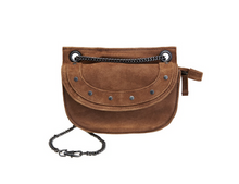 Load image into Gallery viewer, Elvy Suede bag cognac