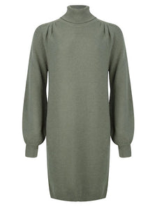 Ydence knitted dress Eveline Army