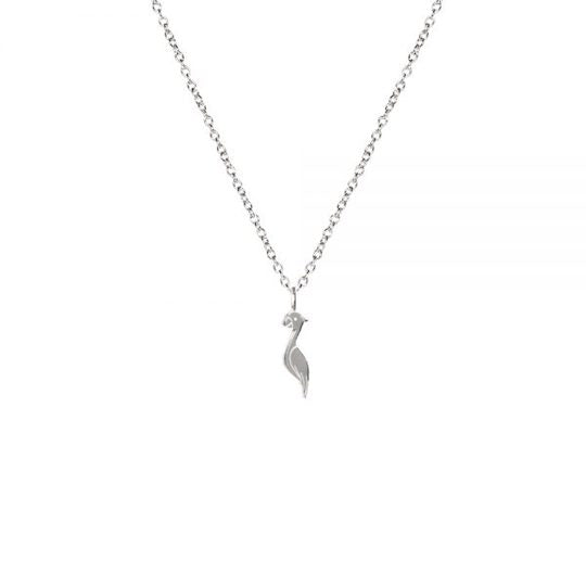M'adam the label necklace Cockatoo steel short