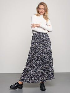 Catwalk Junkie Skirt Painted Flowers