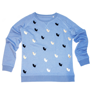 Studio Catta sweater sprinkled with kittens
