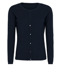 Load image into Gallery viewer, Soft Rebels Zara Cardigan O-neck Night sky