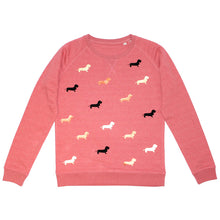 Load image into Gallery viewer, Studio Catta Sweater sprinkled with dachshunds