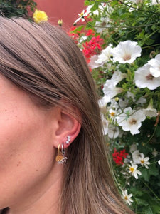 M'adam the Label Earrings round V gold
