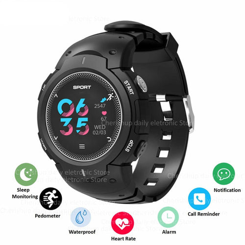 Exercise Step Fitness Bracelet Heart Rate Monitor Wearable Devices Mileage Record Smart Watch Men Android IOS Man Digital Watch