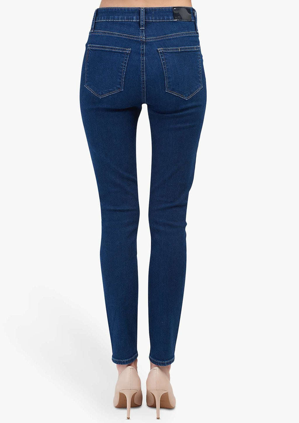 Paige Margot High Rise Ultra Skinny Jeans - Brentwood