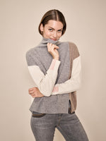 Mos Mosh Layla Rollneck Knit Jumper - Grey