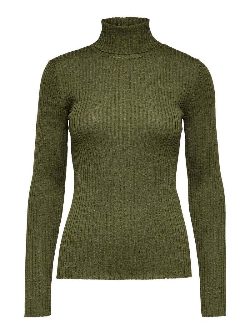 Selected Femme Costa Top- Green