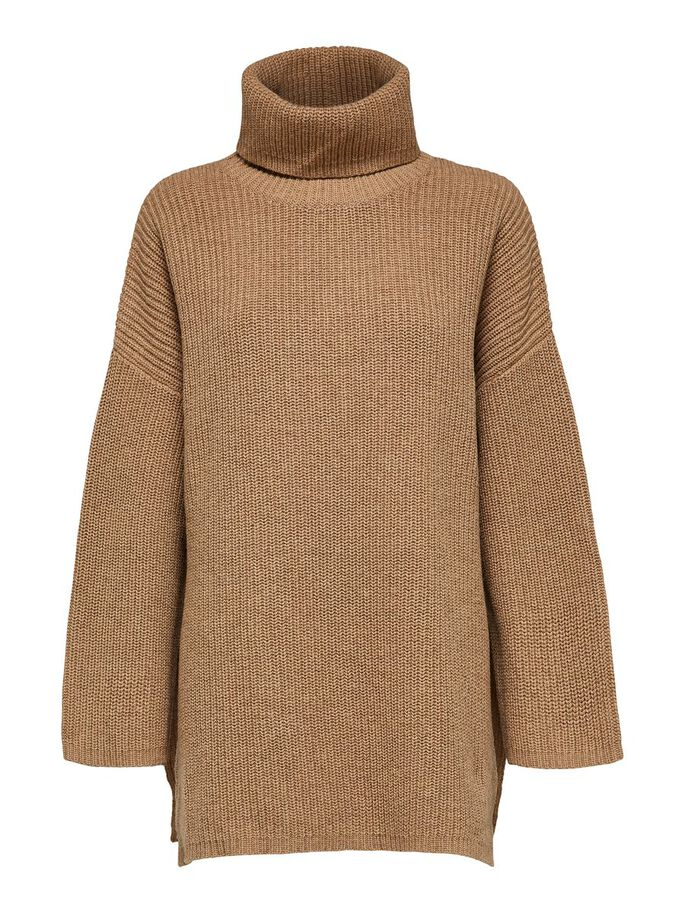 Selected Femme High Neck Oversized Jumper