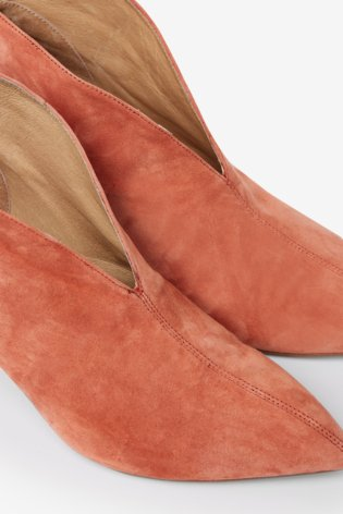 Shoe The Bear Valentina Low Cut Boots - Coral