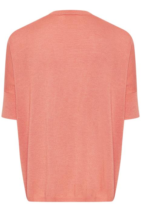 In Wear Bonelli Light Weight Knitted Tee - Coral