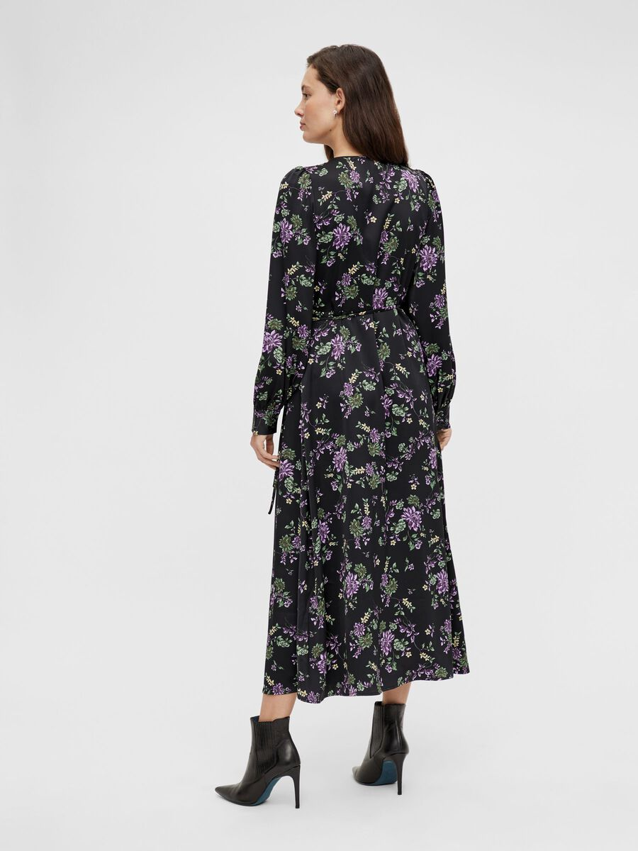 Y.A.S Lauren Wrap Floral Dress