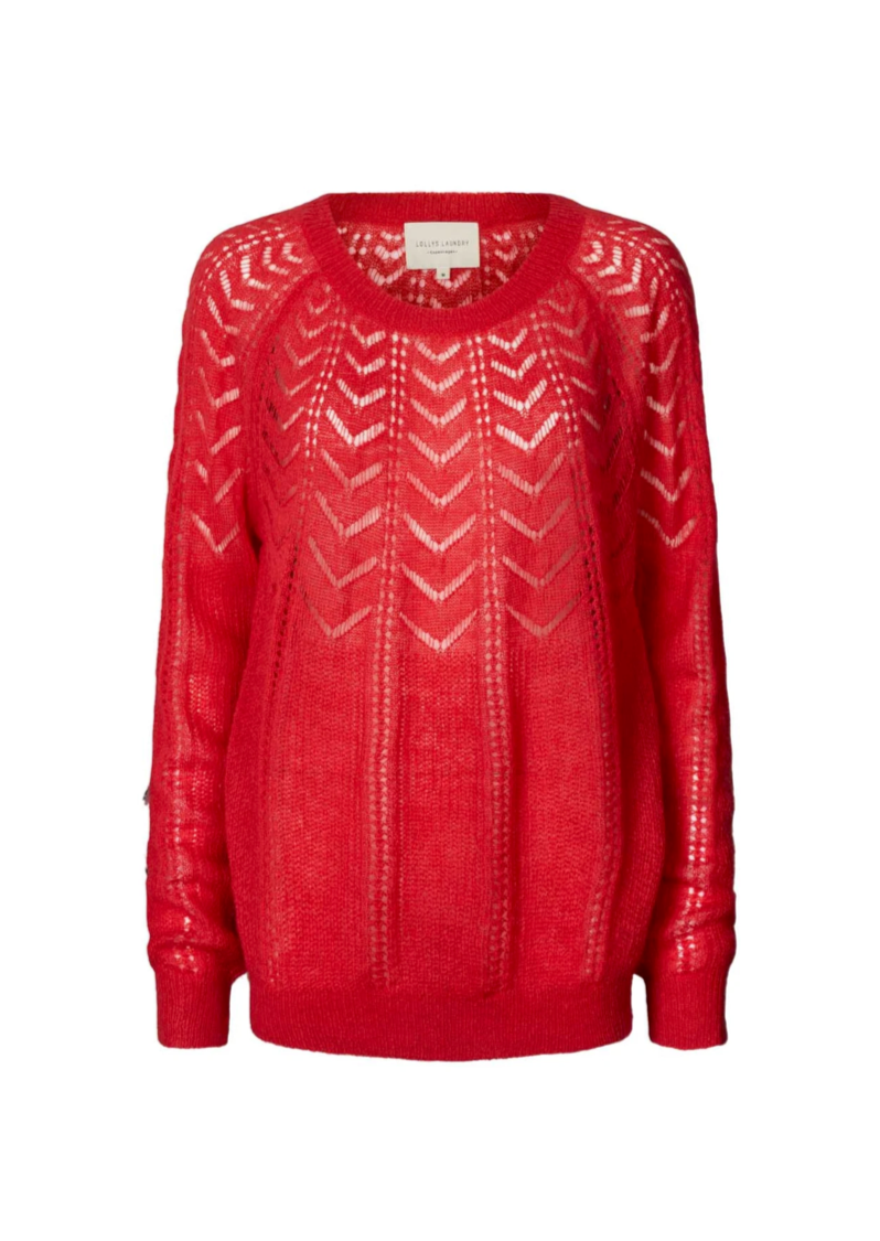 Lollys Laundry Billy Jumper - Cerise