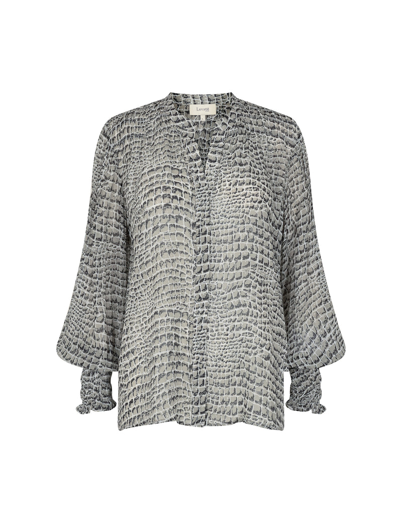 Levete Kira Blouse - Grey