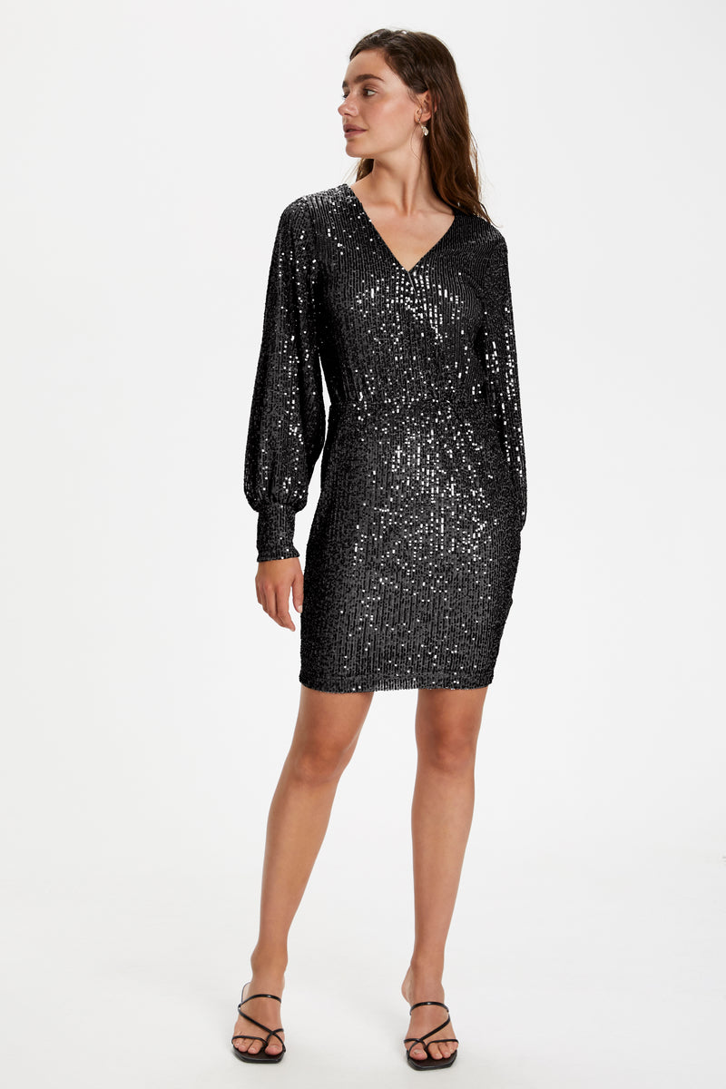 Soaked In Luxury Nicole Dress - Black