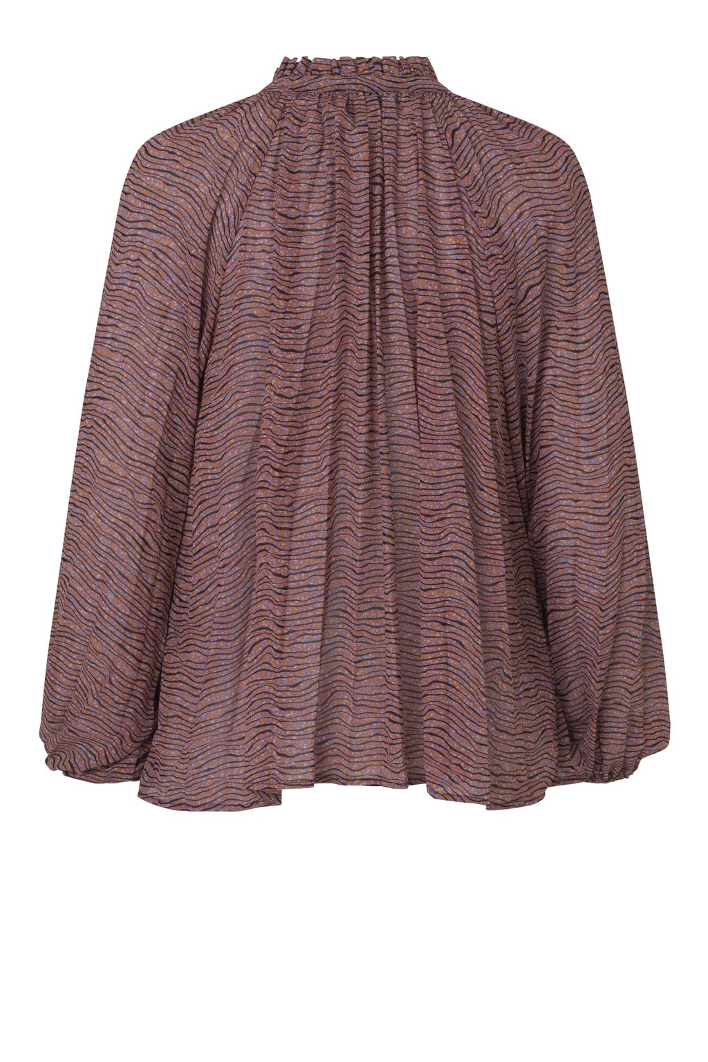 Second Female Venezia Pattern Pink Blouse