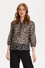 Saint Tropez Carolyn Shirt - Black