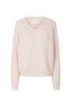 Lollys Laundry Aliza Jumper V-Neck Soft Pink