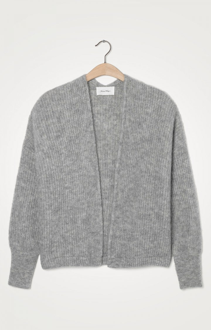 American Vintage East Cardigan - Light Grey