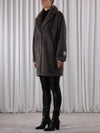 Rino & Pelle Joela Faux Fur Coat - Deep Grey