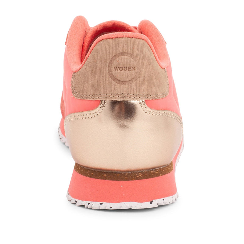 Woden Nora II Trainers - Coral