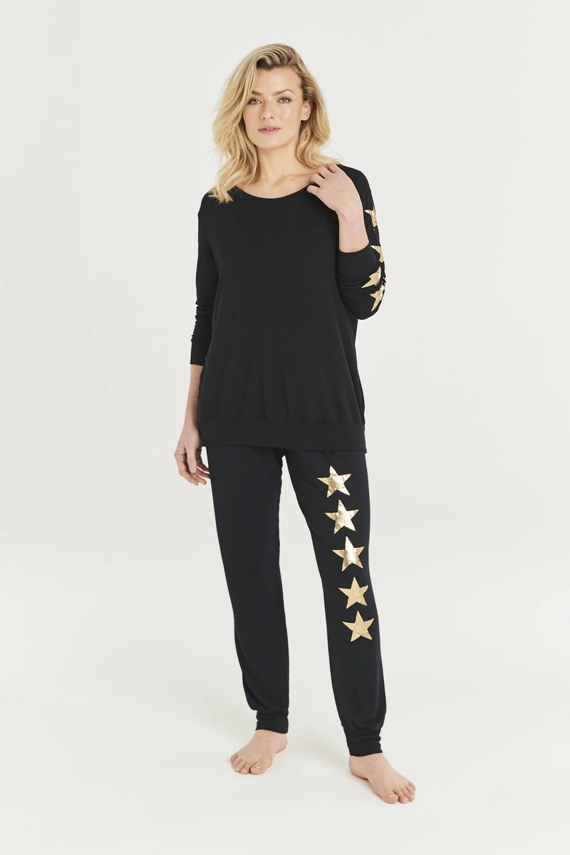 A Post Card From Brighton Star Sweatshirt - Black