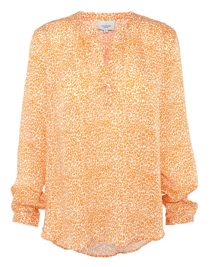 Primrose Park Sandy Open Shirt - Leo Orange