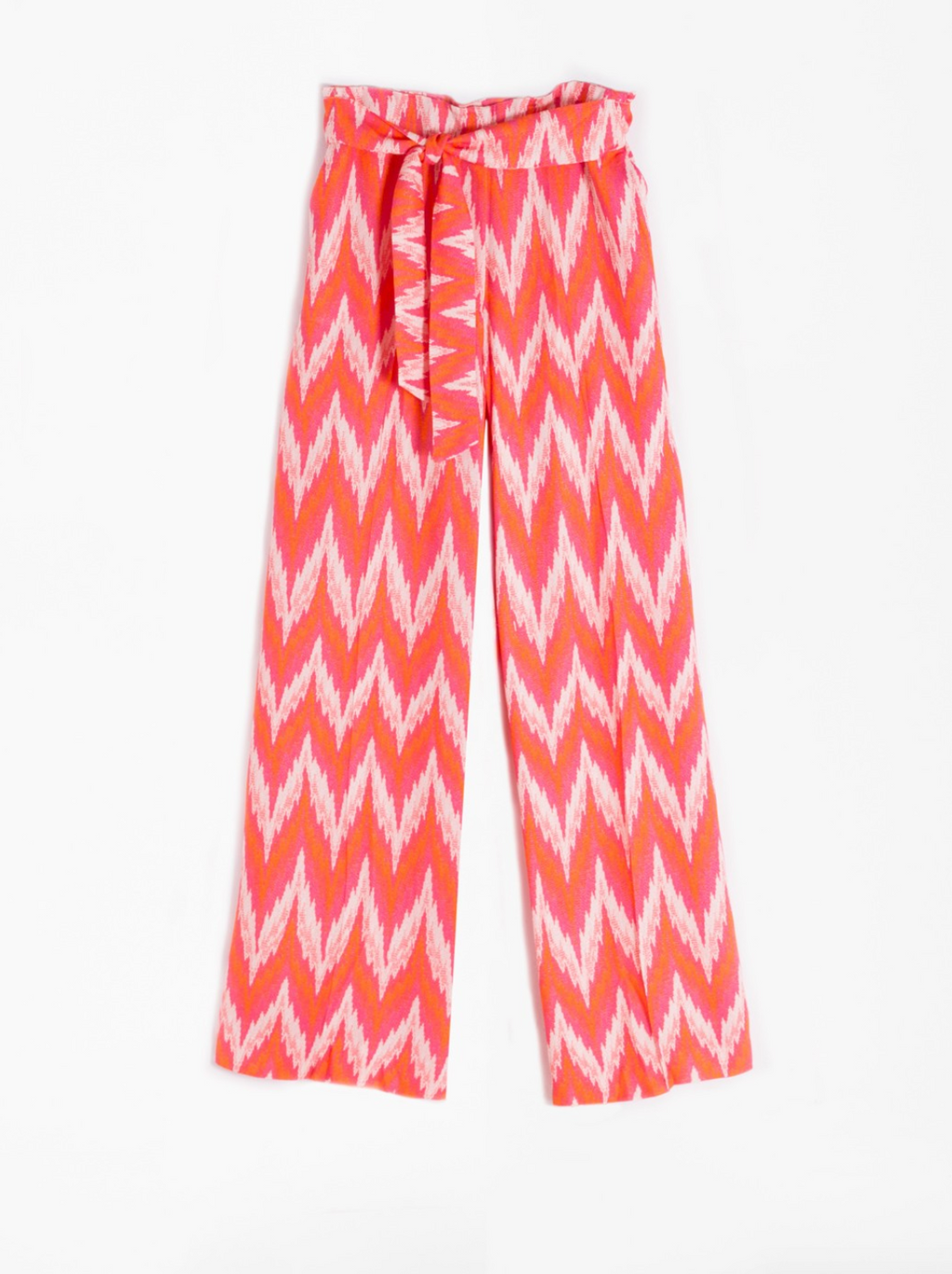 Vilagallo Penelope Wide Trousers Orange