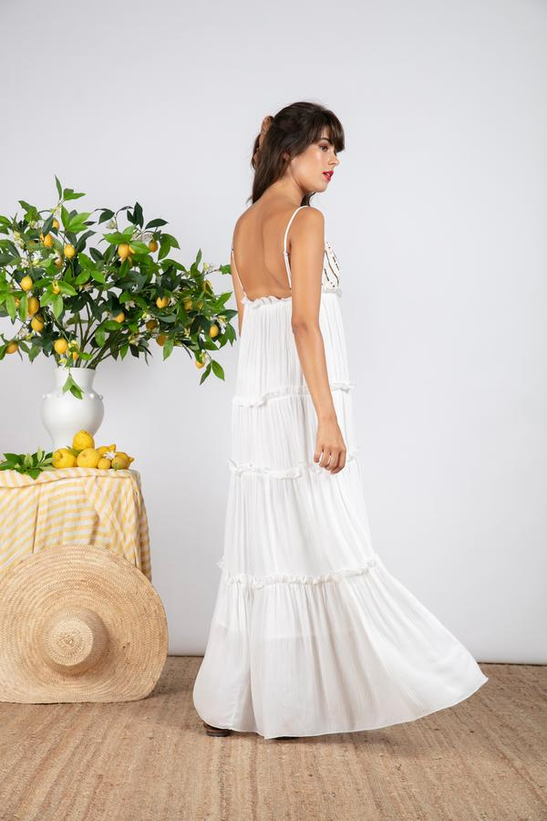 Sundress Ulla Dress - White