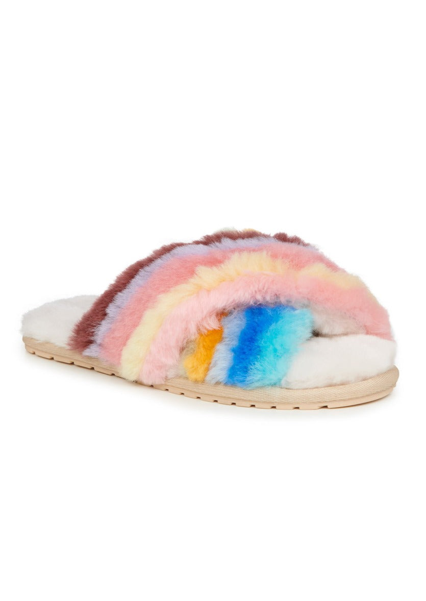 Emu Mayberry Rainbow Slippers