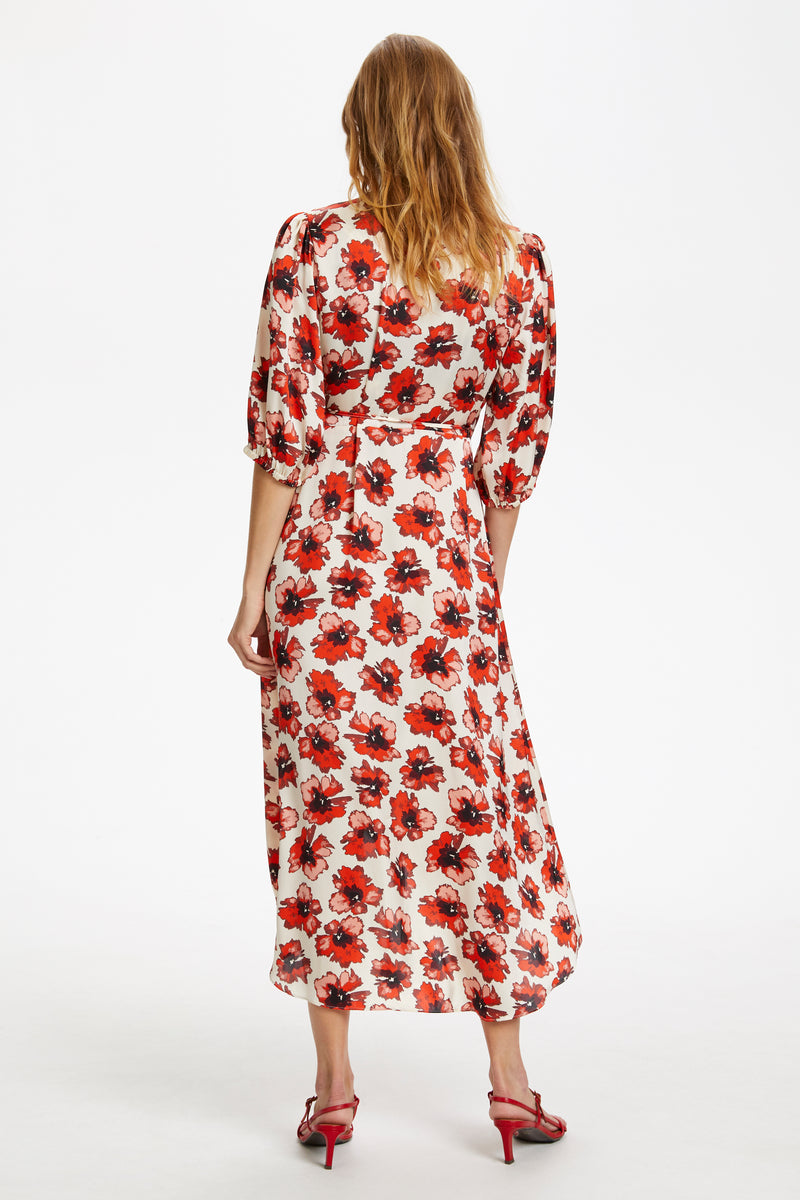 Soaked In Luxury Lisbeth Poppy Dress