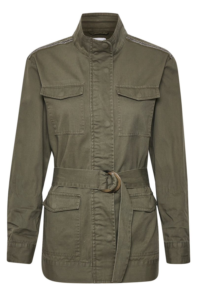 Saint Tropez Thea Army Jacket