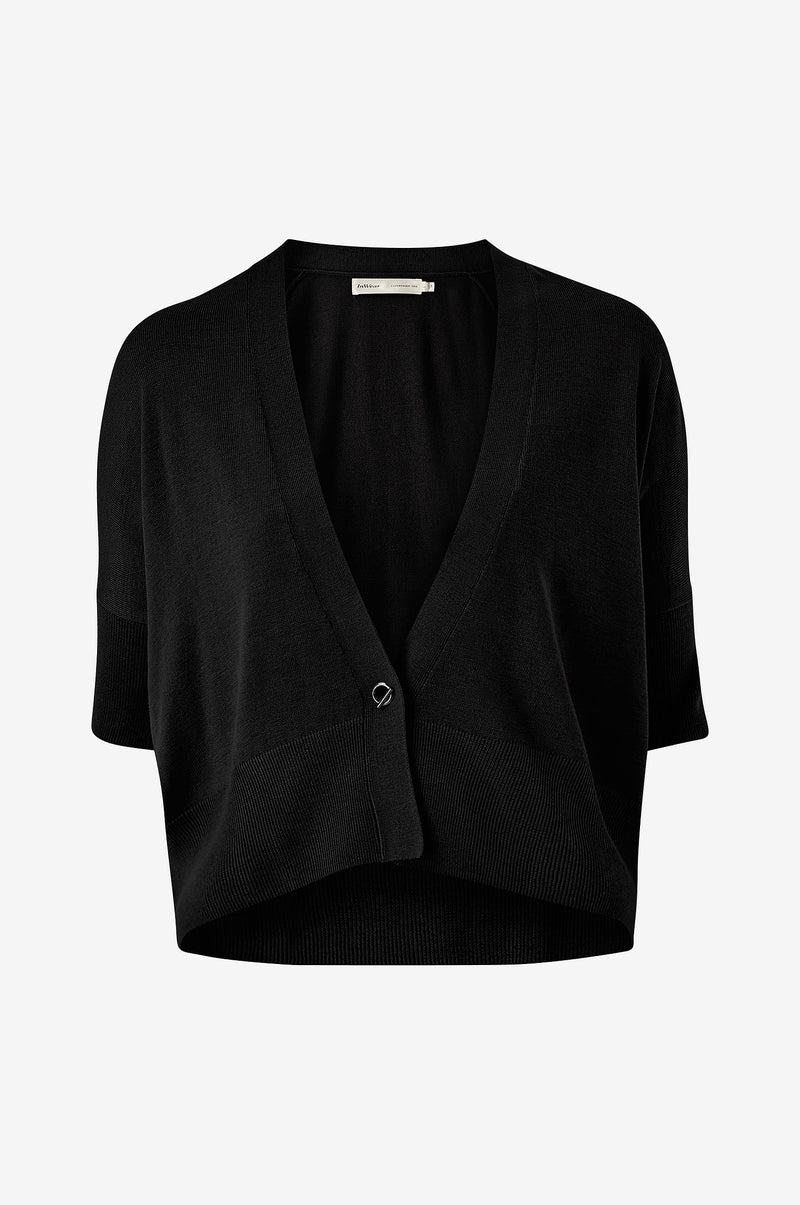In Wear Bonnell Cardigan - Black