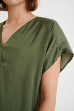 In Wear Rindal Silky V-Neck Top