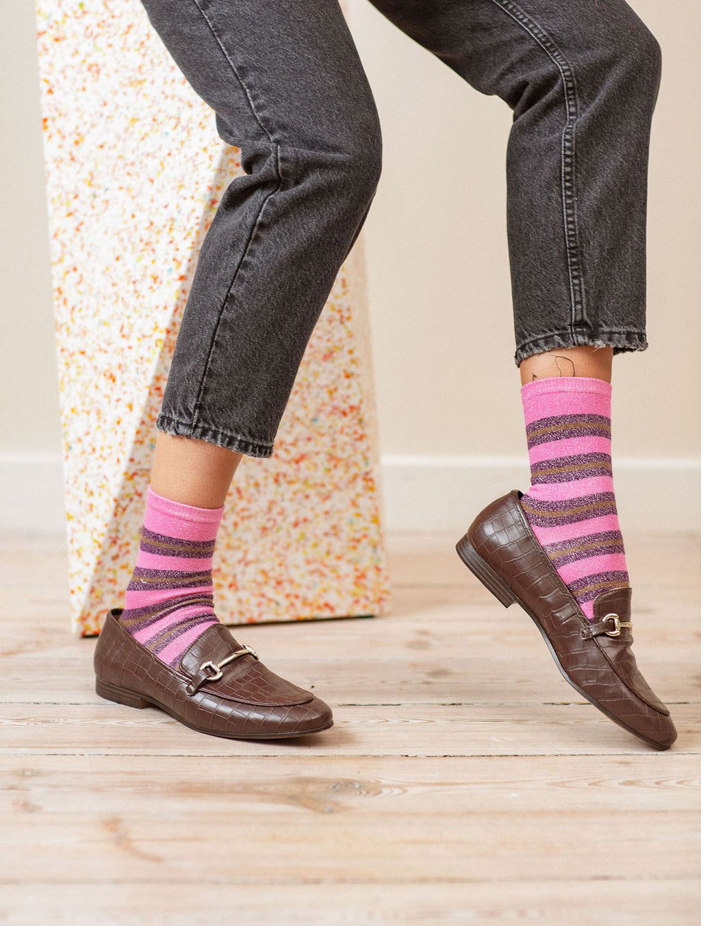 Becksondergaard Dalea Big Stripe Sock