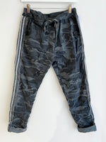 Studio Camo Joggers - Dark Grey