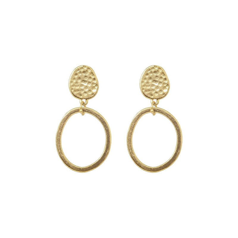 Ashiana Villar Earrings - Gold