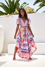 Jaase Luna Print Taurus Maxi Dress