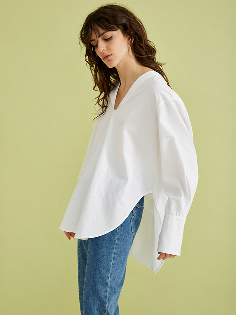 Selected Femme Sandra Cotton Blouse