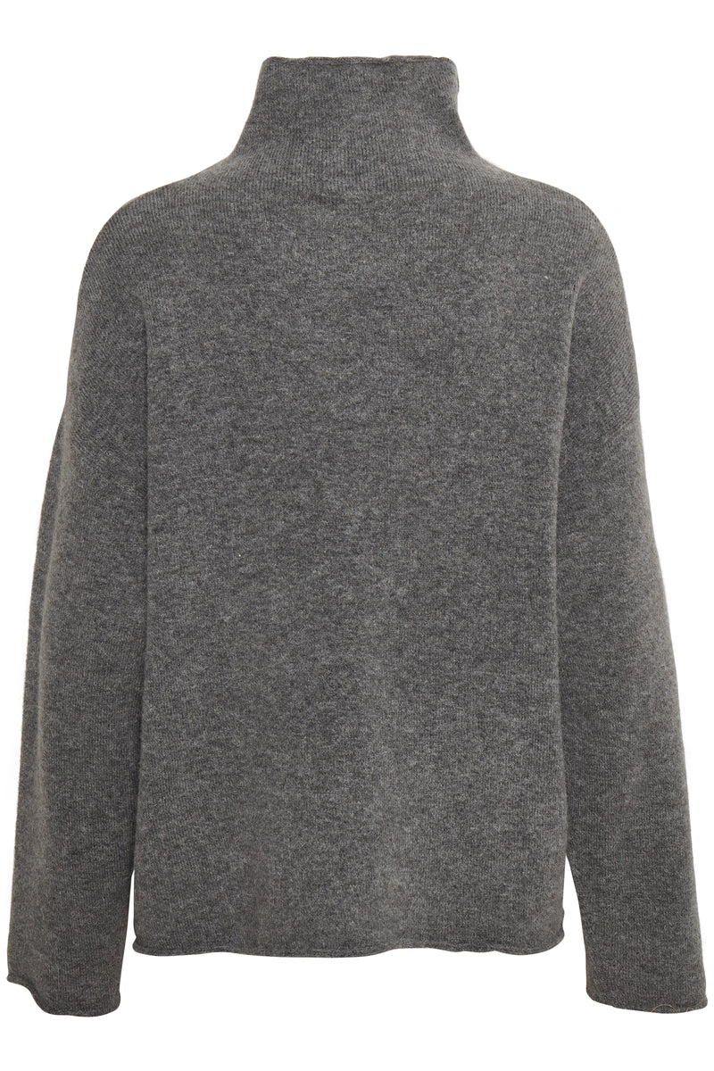 Soaked In Luxury Miya Jumper - Grey